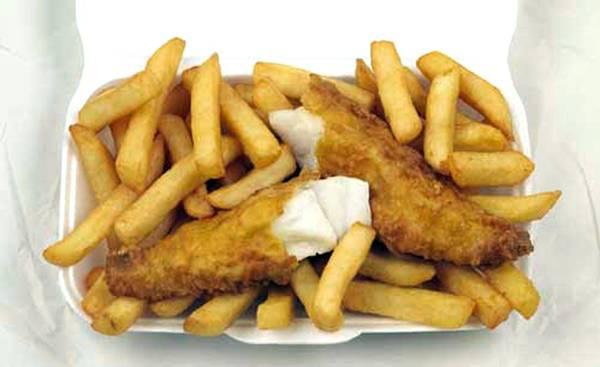 A rischio fish&chips, colpa del riscaldamento dei mari
