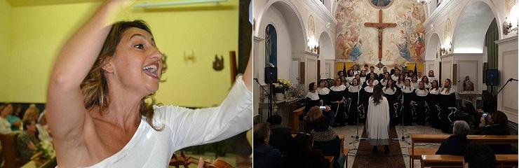 CORO GOSPEL DI POZZUOLI: INTERVISTA AL MAESTRO ENRICA DI MARTINO