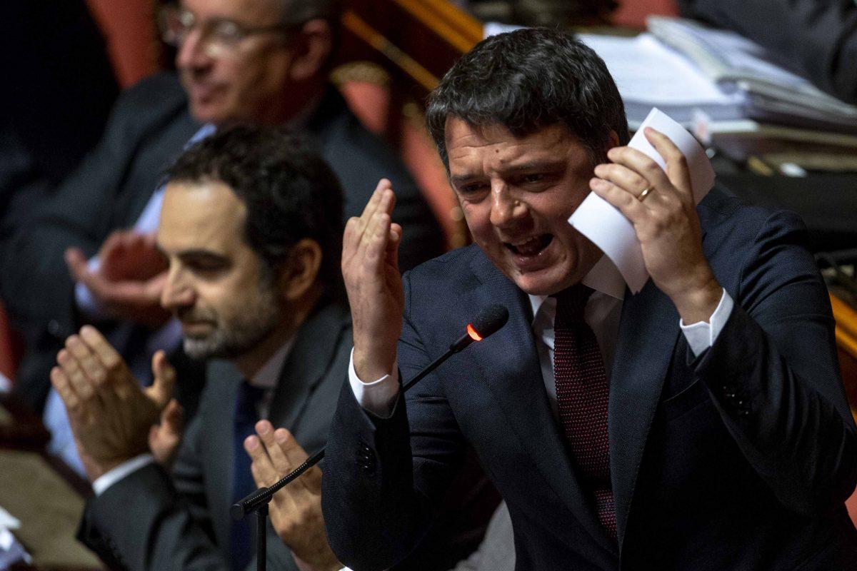 """Manovra, Renzi: """"Balle su balle, adesso il conto lo paga la povera gente�"""