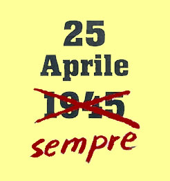 Salvare il 25 aprile e il senso dell'antifascismo.L'ottanta per cento dei giovani, e non solo, non sa cosa si festeggi oggi: davvero agghiacciante ! Un paese che non conosce la propria storia è pronto a ripeterla.