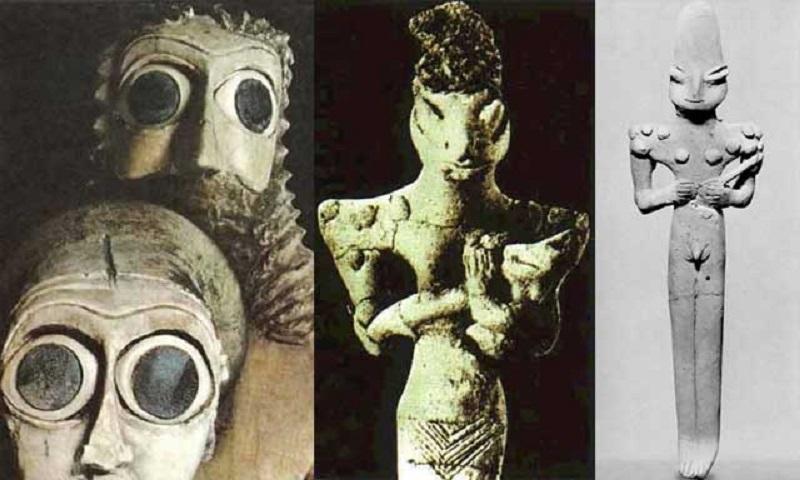 Gli Antichi Anunnaki, Rettiliani del lontano passato