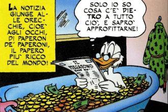 CITOFONATE A PAPERINO E' l'unico che sa dove trovare i soldi promessi in campagna elettorale: nei caveau di zio Paperone.