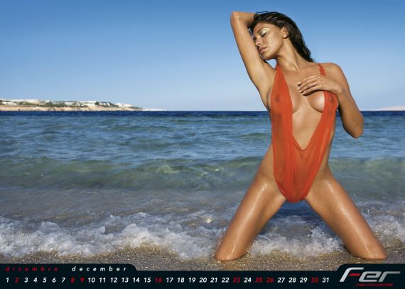 Belen Nuda Calendario.Belen Rodriguez Calendario E Isola